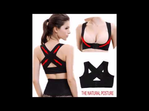 Women's Back Brace: Posture Correction Support Band - The Natural Posture