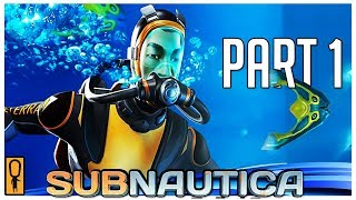 FIRST TIME DIVER - Let's Play Subnautica Blind Part 1 - FULL RELEASE GAMEPLAY [TWITCH]