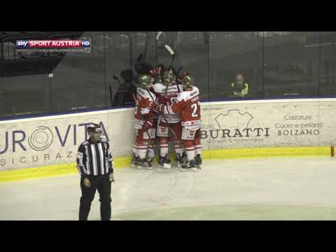 Erste Bank Eishockey Liga 17/18, 3. Runde: HCB Südtirol Alperia - Dornbirner Eishockey Club 4:1