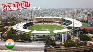 M.A. Chidambaram Stadium by Drone - Chennai, India [4K-UHD]