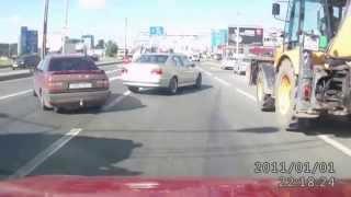 Разборки на дорогах - авто нарезка, приколы авто 2014