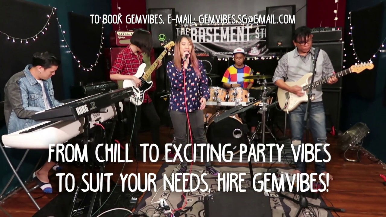 GemVibes 2019 Showreel | Funk Pop Fusion Band | Singapore