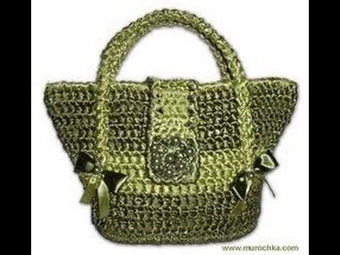 вязаные сумки крючком фото 2019 Knitting Bag Hook Photo
