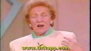Dr. Doris Rapp - Children's Allergies to Food & Environment