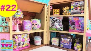 Blind Bag Dollhouse #22 Unboxing Disney LOL Surprise Hatchimals Trolls Toy | PSToyReviews