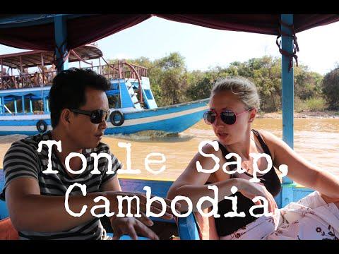 TONLE SAP - Siem Reap - Cambodia Travel Vlog