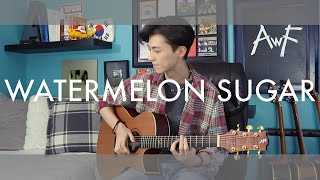Baixar Watermelon Sugar - Harry Styles - acoustic fingerstyle guitar cover