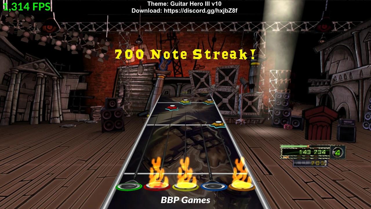 Guitar Hero 3 Custom Theme Mod For CLONE HERO