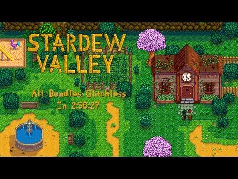 Stardew Valley Speedruns | All Bundles Glitchless In 2:56:27