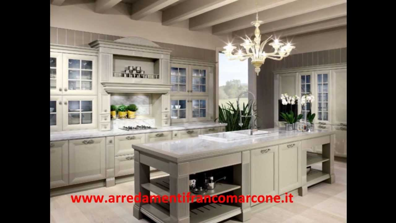 Cucine stile contemporaneo franco marcone youtube for Stili cucine