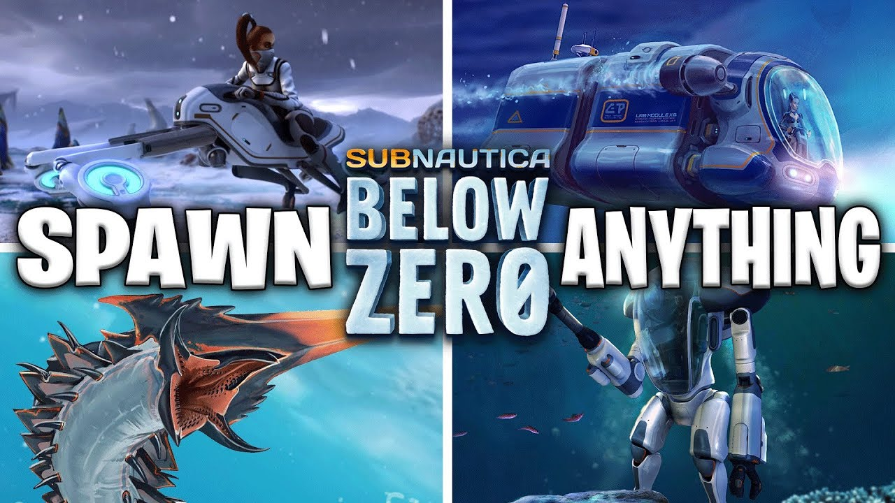How To Spawn ANYTHING In SUBNAUTICA BELOW ZERO - Console Commands