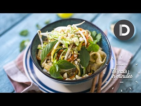 5 Minute Pad Thai Recipe!