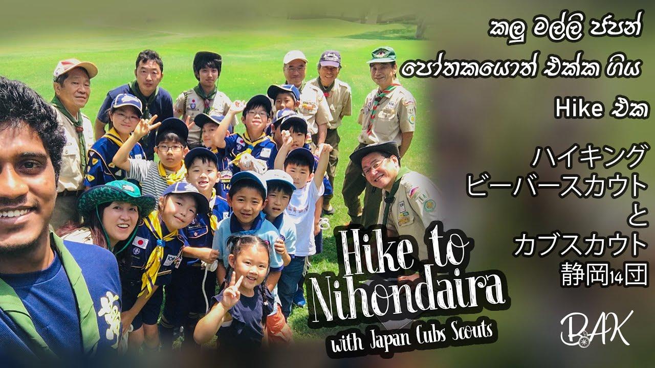 Hike to Nihondaira with Japan Cubs Scouts | ජපන් පෝතකයොත් එක්ක ගිය Hike එක