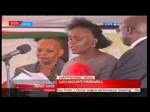 Gachagua's first wife Margaret's tribute of her love and appreciation to her late husband