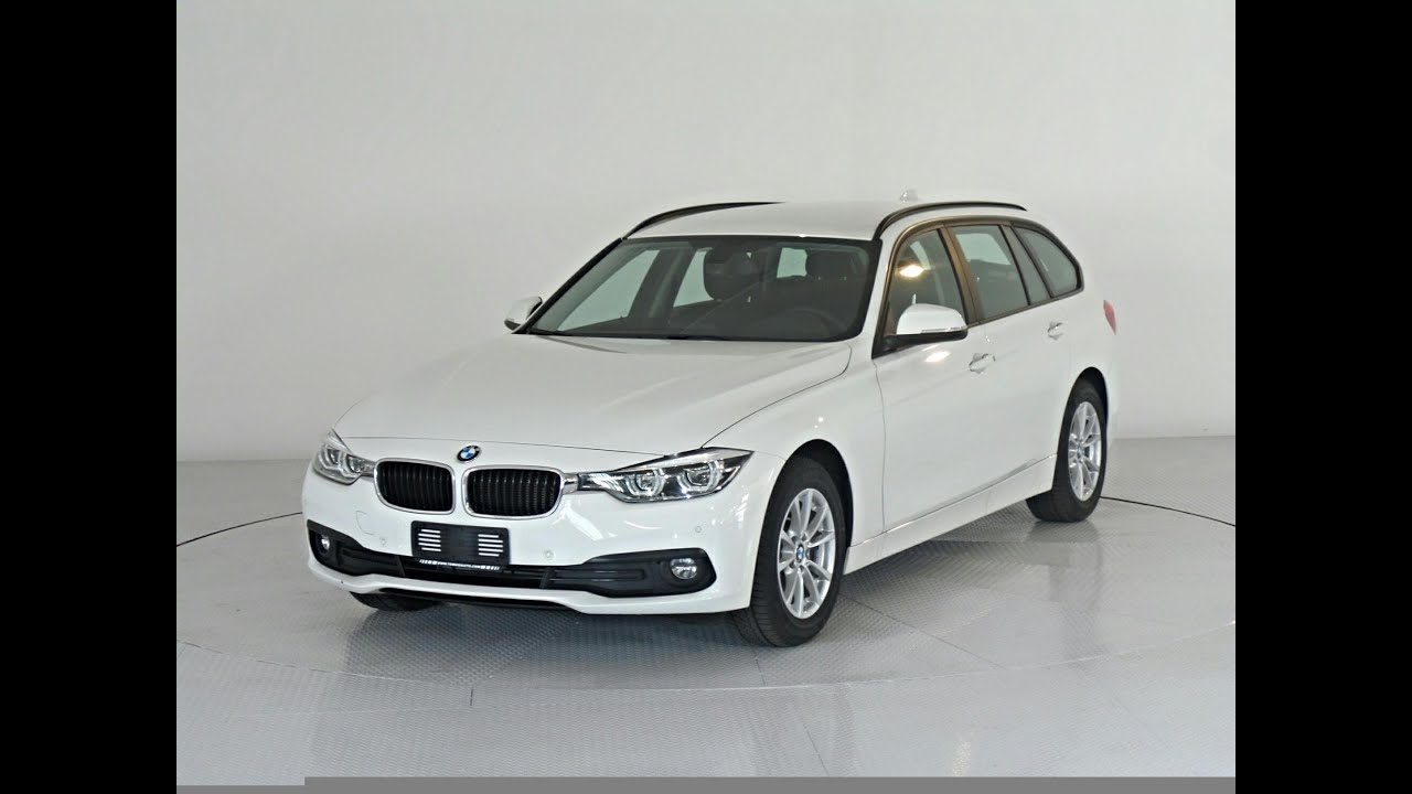 bmw 318d touring bianco youtube. Black Bedroom Furniture Sets. Home Design Ideas