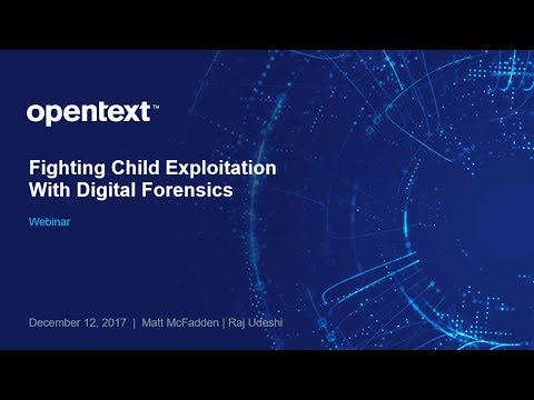 Fighting Child Exploitation with Digital Forensics