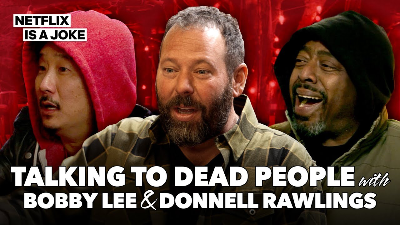 Bert Kreischer, Donnell Rawlings & Bobby Lee Visit a Psychic | Netflix Is A Joke Exclusive