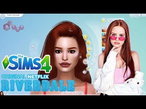 TWORZĘ DZIEWCZYNY z RIVERDALE  💙 The Sims 4 thumbnail