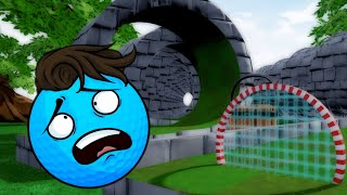 Getting Trolled By The Course! - Golf It Hole In One Challenge Map Funny Moments and Fails