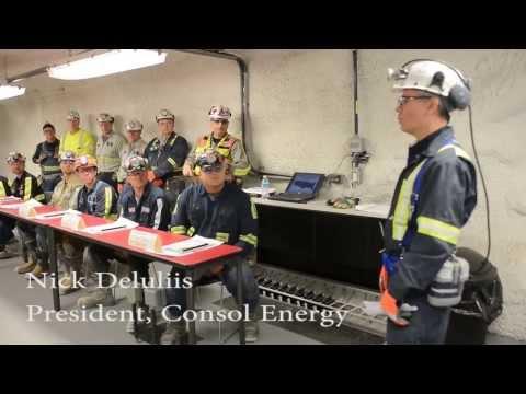 Going Underground CONSOL's Underground Training Academy