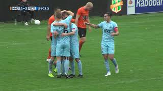 Samenvatting HHC Hardenberg - Rijnsburgse Boys 3-3 (12-10-2019)