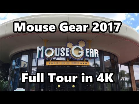 Mouse Gear Store at Epcot | Full Tour 2017 in 4K | Walt Disney World