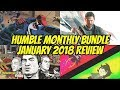 Humble Monthly Bundle   January 2018 Review