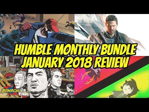 Humble Monthly Bundle | January 2018 Review