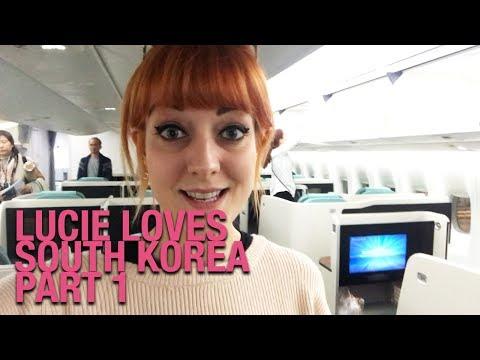 Press Trip to South Korea with Kia – Flying Prestige Class w/ Korean Air! | Part One // Lucie Loves