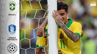 Download Brazil 3 - 0 Korea Republic - HIGHLIGHTS & GOALS - 11/19/19 Mp3 and Videos