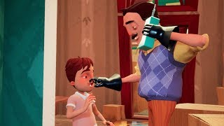 CONOCEMOS LA FAMILIA DEL VECINO - HELLO NEIGHBOR HIDE AND SEEK