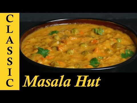 Veg Kurma / Vegetable Kurma for Chapathi / Mixed Vegetable Korma / Vegetable Curry for Chapathi