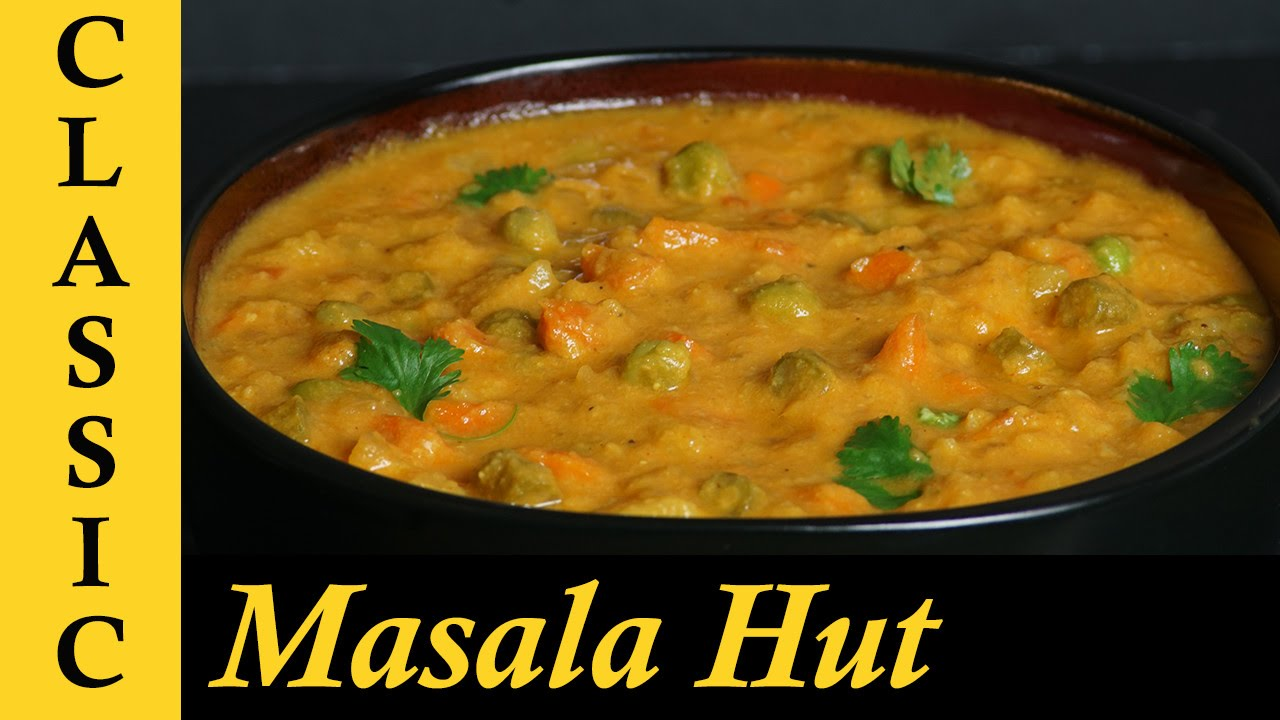 Vegetable Kurma For Chapathi Veg Kurma / Vegetable ...