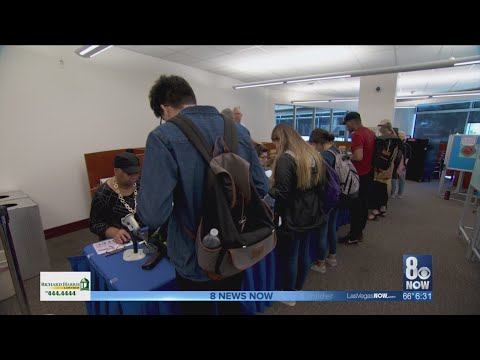 Early Voting Numbers Continue To Impress; Nevada Could See Record Turnout
