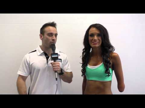 ANB 2014 Female Spectacular - Interview with Soulaie Sheehan before hitting the stage