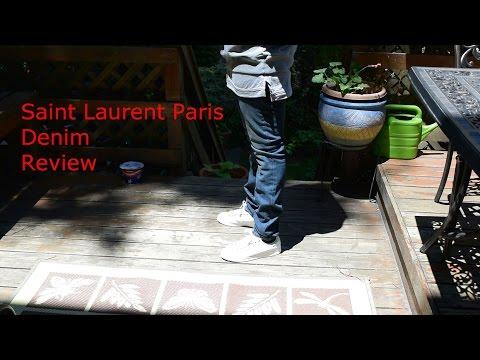 Saint Laurent Paris Denim Jeans Review:Dark Blue Skinny Jeans Spring/Summer 16