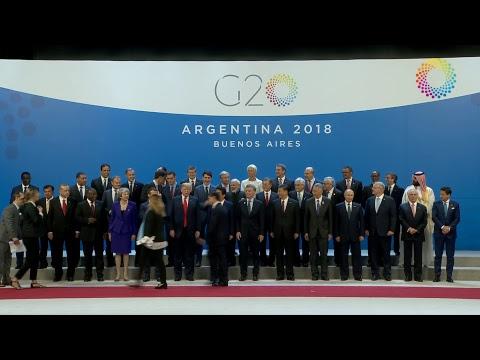 Foto de familia G20 Argentina 2018