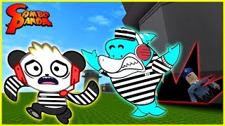 Roblox Escape Prison Obby with Big Gil Let's Play with Combo Panda
