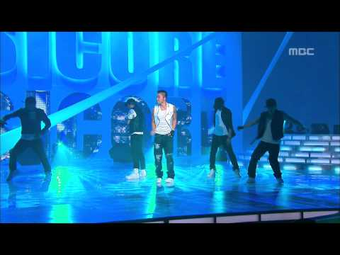 Tae-yang - Only look at me, 태양 - 나만 바라봐, Music Core 20080628