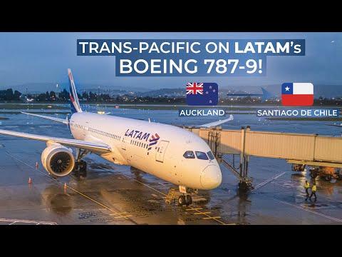 TRIPREPORT | LATAM (Economy) | Auckland - Santiago De Chile | Boeing 787-9