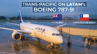 TRIPREPORT   LATAM Chile (ECONOMY)   Boeing 787-9   Auckland - Santiago De Chile