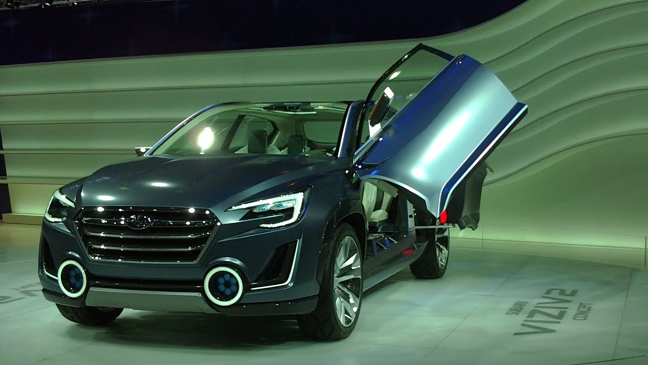 Subaru Viziv 2 Concept Exterior And Interior In Full Hd Youtube