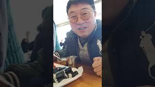 솔라리오 통영 충무김밥 원조 가게에서...