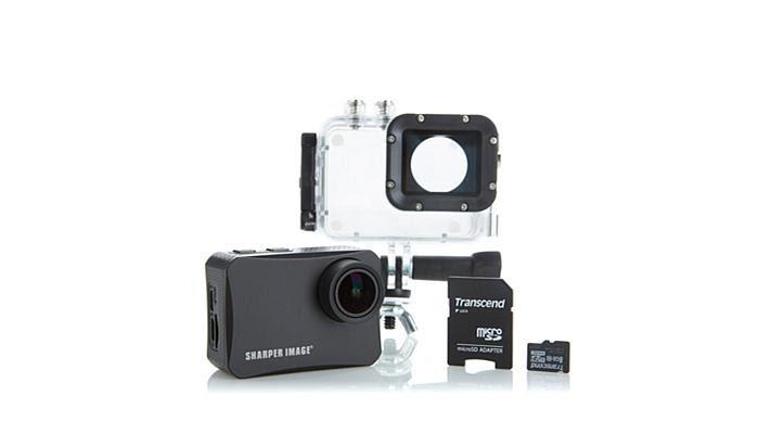 Sharper Image 4k Wireless Action Camera Waccessories Youtube