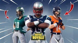 SKINS FOOTBALL AMERICAN FORTNITE X NFL