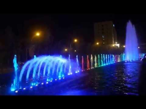 SM Lanang Premier Fountain Show