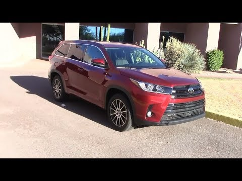 2017 toyota highlander performance fuel economy youtube. Black Bedroom Furniture Sets. Home Design Ideas