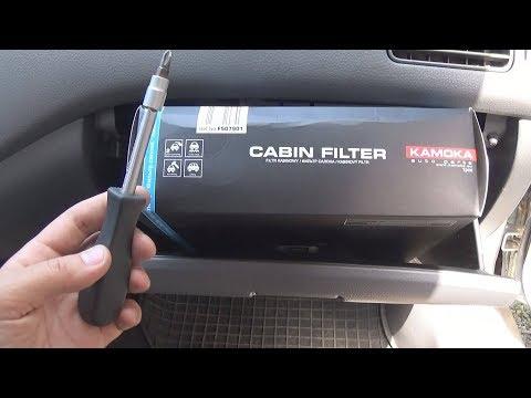 Как поменять салонный фильтр на митсубиси лансер 9 видео