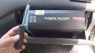 Как поменять салонный фильтр на Mitsubishi Lancer 9