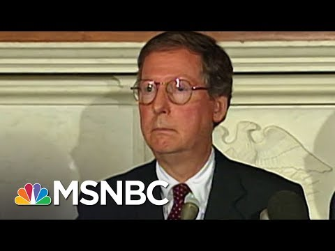 Mitch McConnell Handling Of Past Sex Scandal A Warning For Roy Moore | Rachel Maddow | MSNBC
